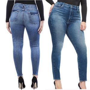 Good American Good Legs Distressed Skinny Jeans